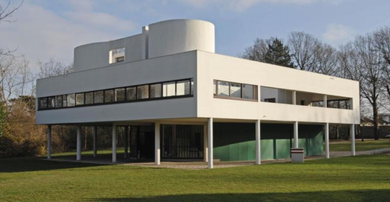 Villa Savoye, Poissy, Le Corbusier