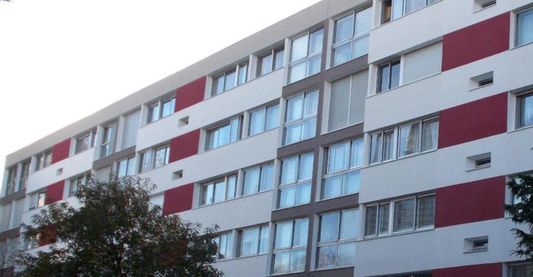 Copropriété Changarnier, Brest, Rénovation intégrale