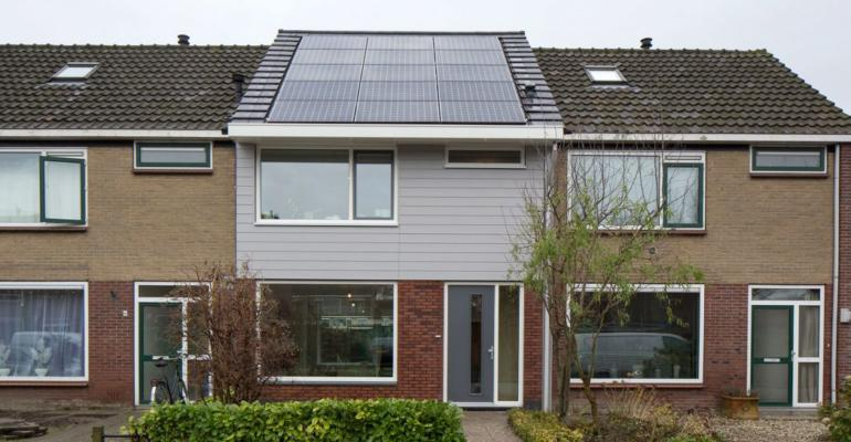 Maison individuelle rénovée, Pays-Bas, EnergieSprong
