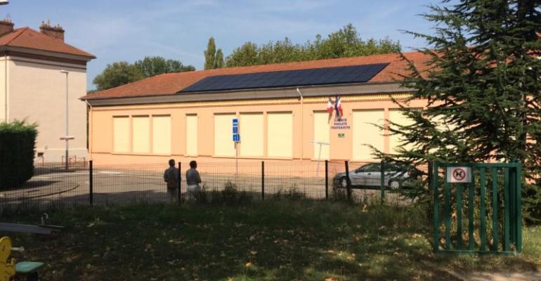 Toiture photovoltaïque citoyenne sur écoles