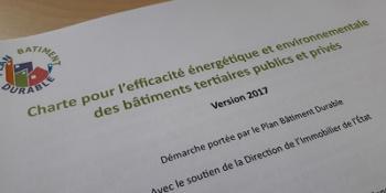 Charte tertiaire plan bâtiment durable