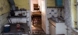 Intérieur logement insalubre