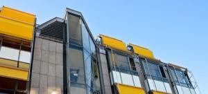 facade batiment rénové