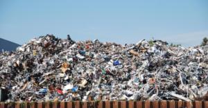 tas de déchets