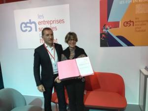 partenariat efficacité énergétique Enerlis ESH
