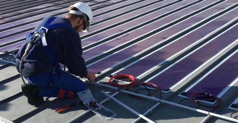 films photovoltaïques organiques (OPV)