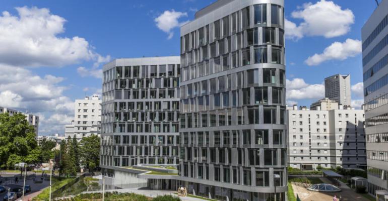 Ampère e+ une vitrine technologique pour le promoteur immobilier Sogeprom mais également un bâtiment aux atouts environnementaux et sociétaux.