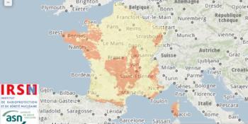 Cartographie radon