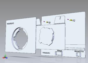La solution Fix a+ permet de remplacer sans risque d'émission de fibres d'amiante, un appareil type radiateur électrique, fixé au mur.