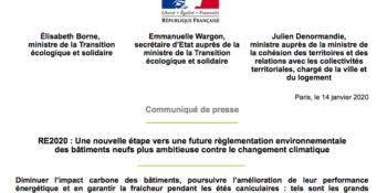 communique_RE2020_ministere